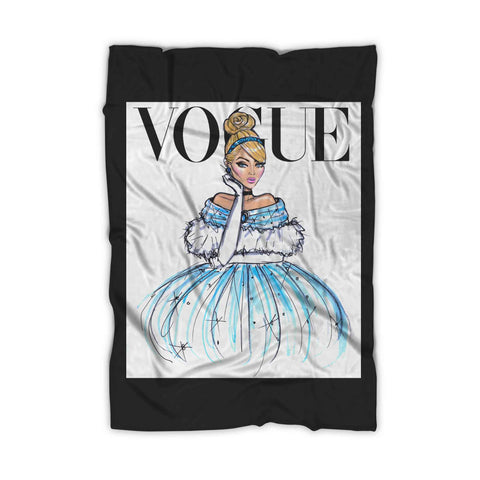 Disney Princess Cinderella Vogue Blanket