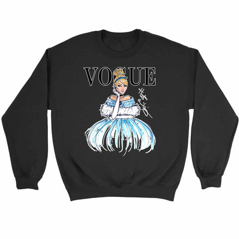 Disney Princess Cinderella Vogue Art Sweatshirt