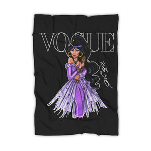 Disney Vogue Magazine Princesses Blanket