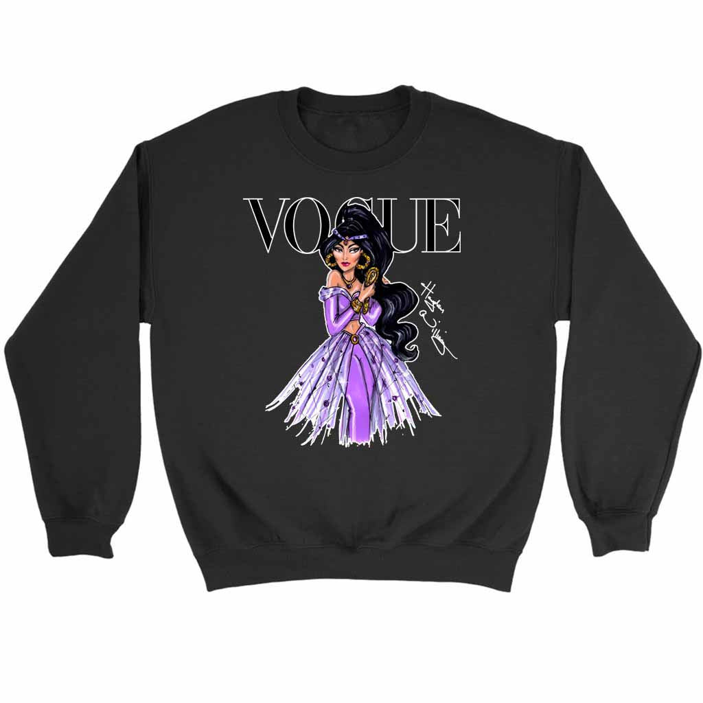 Disney Vogue Magazine Princesses Sweatshirt