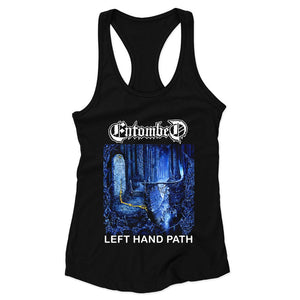Entombed Left Hand Path 90 Nihilist Woman's Racerback Tank Top