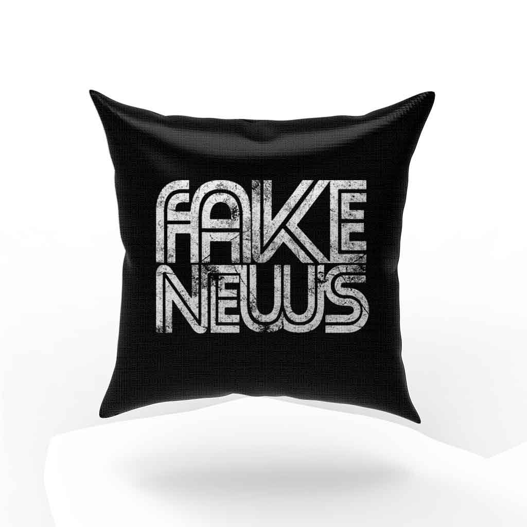 Fake News Donald Trump Pillow Case Cover