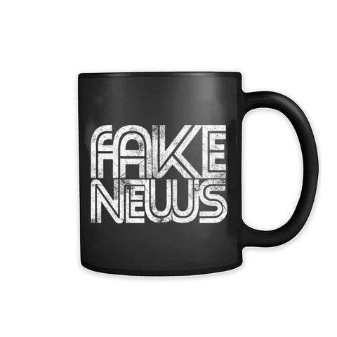 Fake News Donald Trump 11oz Mug