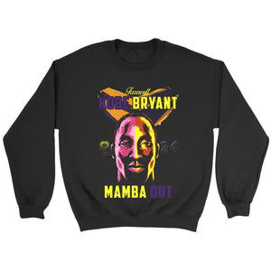 Farewell Kobe Bryant 8 24  Mamba Out Sweatshirt