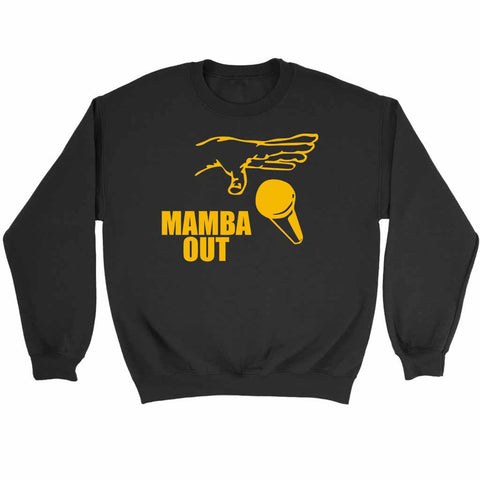 Farewell Kobe Mamba Out Sweatshirt