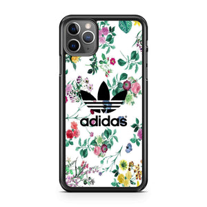 Floral Adidas iPhone Case