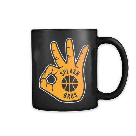 Foam Finger 3 Splash Bros 11oz Mug