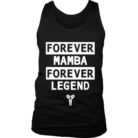 Forever Mamba Kobe Bryant Legend La 24 Black Mamba Men's Tank Top