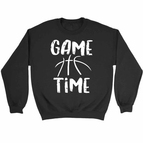 Game Time Basketball Sweatshirt
