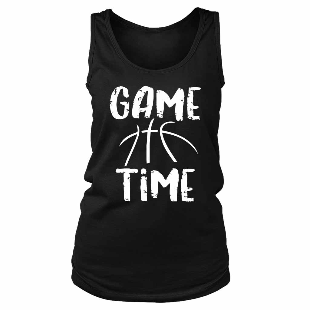 Game Time Basketball Women's Tank Top