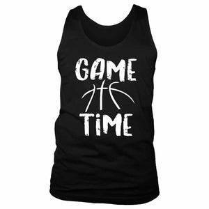 Game Time Basketball Men's Tank Top
