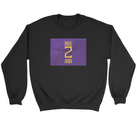 Gianna Brant And Kobe Bryant Sweatshirt