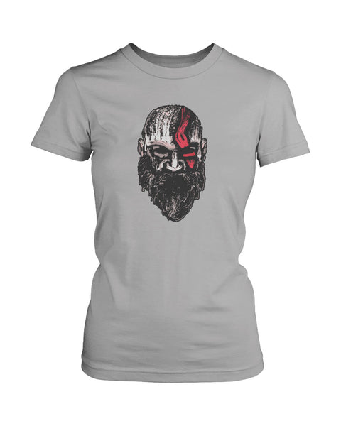 God Of War Kratos The Warrior Of Gods Women's T-Shirt