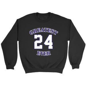 Gold Los Angeles 24 Kobe Greatest Ever Sweatshirt