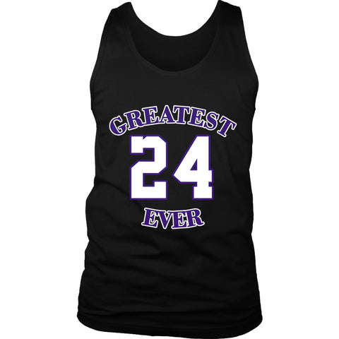 Gold Los Angeles 24 Kobe Greatest Ever Men's Tank Top