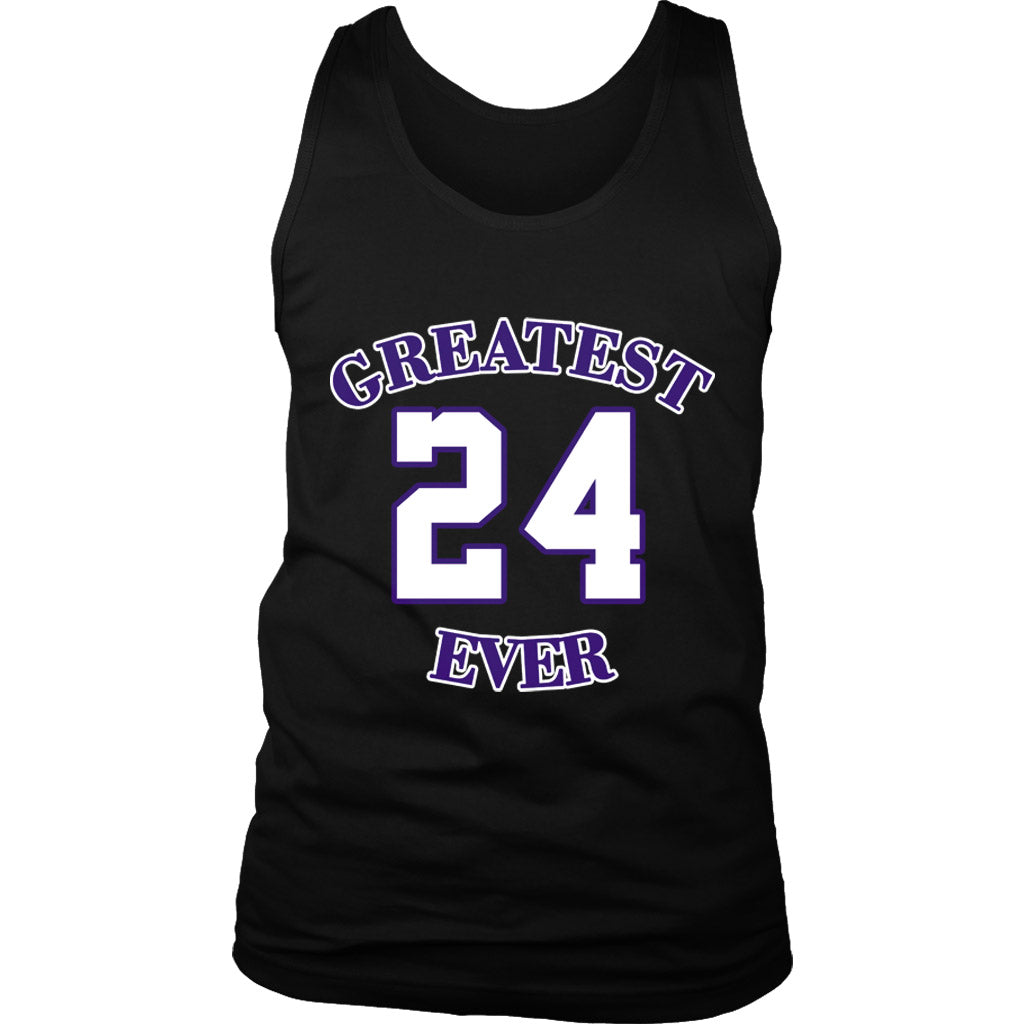 Gold Los Angeles 24 Kobe Greatest Ever Women's Tank Top
