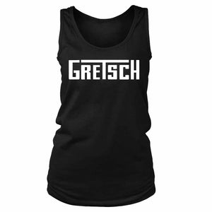 Gretsch Logo Guitars Music Women's Tank Top