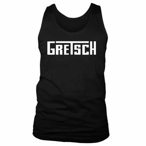Gretsch Logo Guitars Music Men's Tank Top