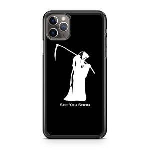 Grim Reaper See You Soon iPhone Case