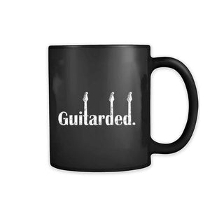 Guitarded Electric Guitar Music Band Funny 11oz Mug