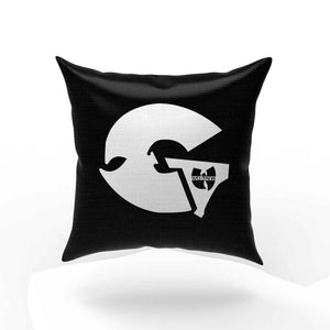 Gza Logo Classic Hip Hop Rap Vintage Style Wu Tang Clan Pillow Case Cover
