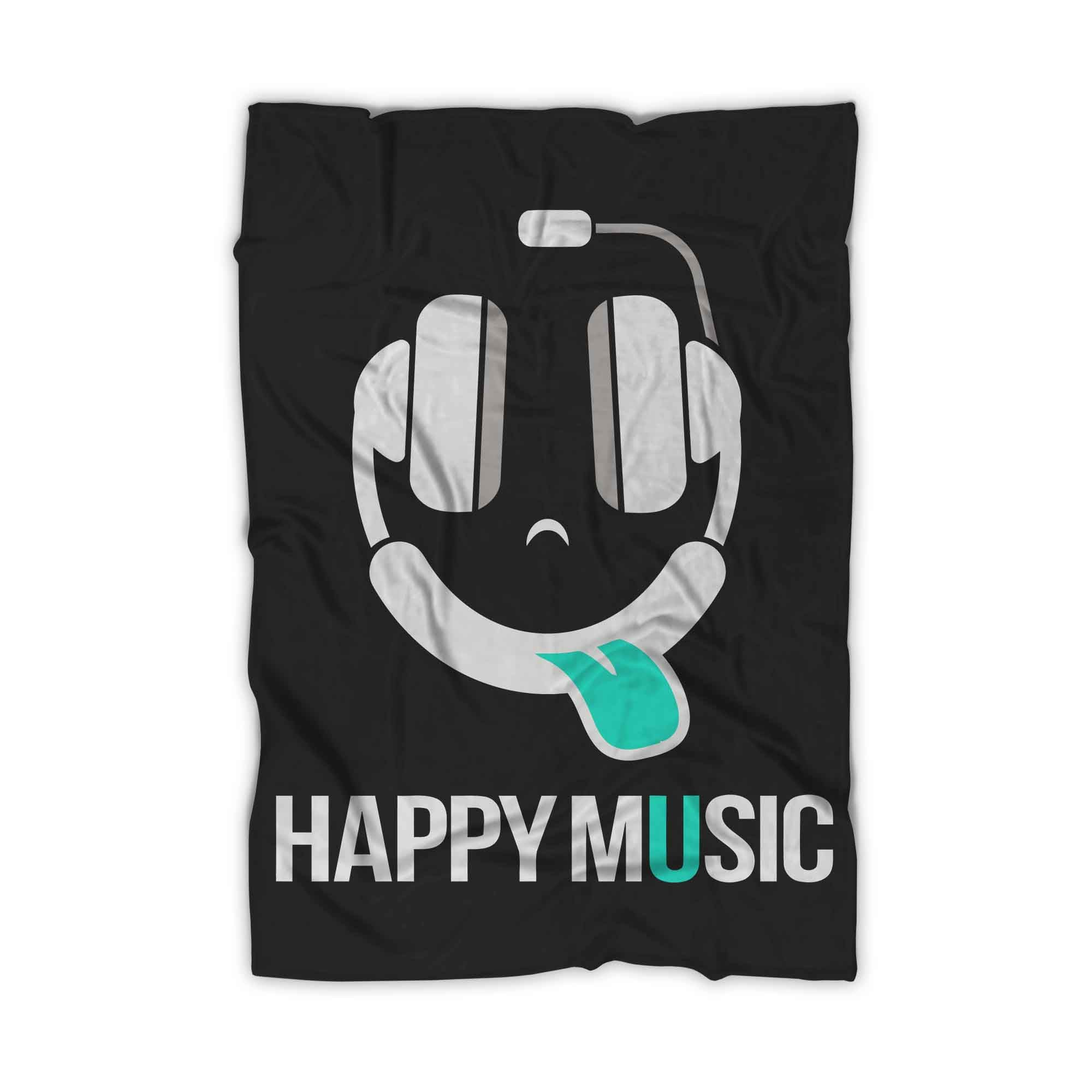 Happy Music Blanket