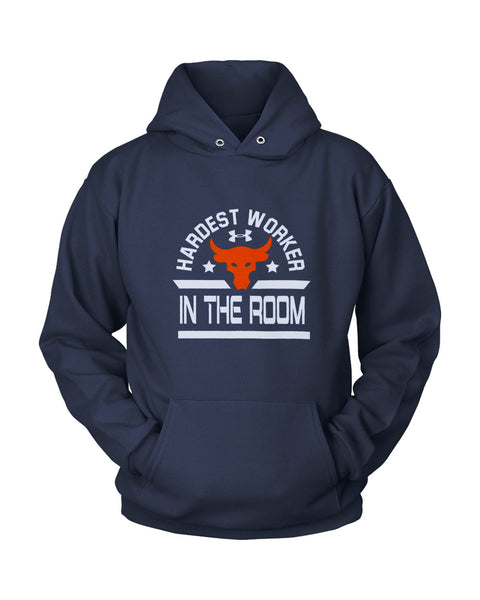 Hardest Worker In The Room The Rock Under Armour Project Unisex Hoodie