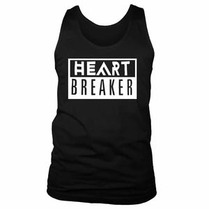 Heart Breaker Funny Fun Quotes Men's Tank Top