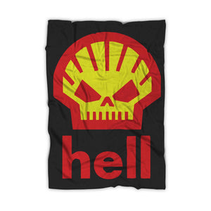 Hell Parody Shell Blanket