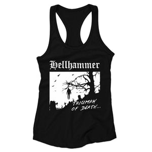 Hellhammer Triumph Of Death 83 Celtic Frost Triptykon Woman's Racerback Tank Top