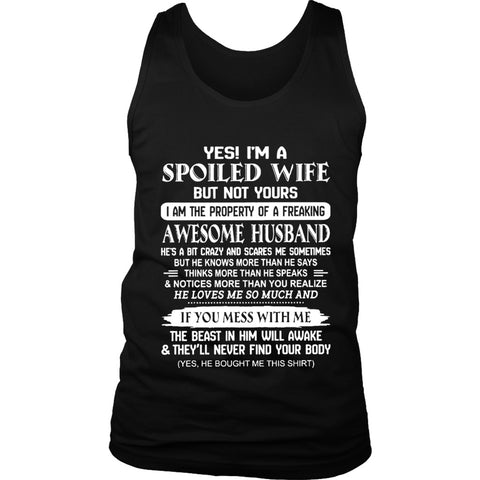 I Am A Spoiled Wife Women's Tank Top