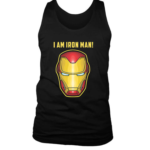 I Am Iron Man Men's Tank Top