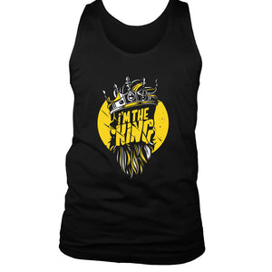 I Am The King Men's Tank Top