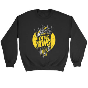 I Am The King Sweatshirt