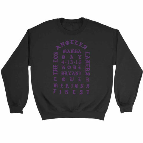 I Feel Like Kobe Mamba Day Pablo Sweatshirt