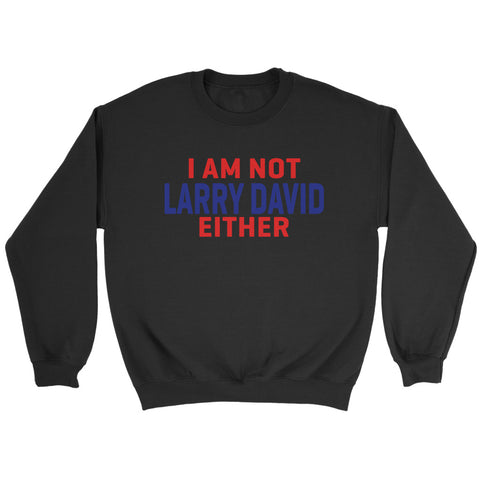 I  Am Not Larry David Either Sweatshirt