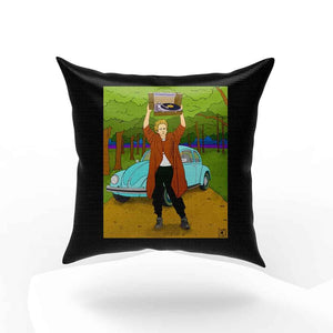 In Paul Is Eyes Simon And Garfunkel Drawing Pillow Case Cover