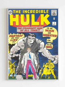 Incredible Hulk Issue 1 Vintage Classic Hulk Poster