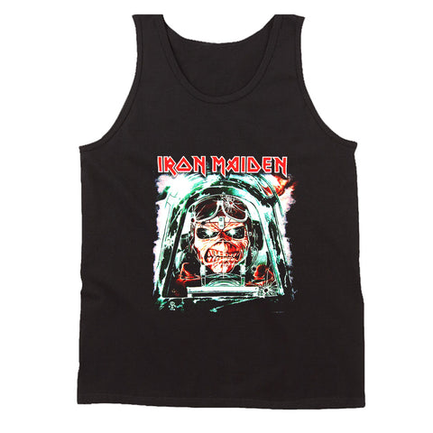 Iron Maiden Aces High Ed World Tour Men's Tank Top