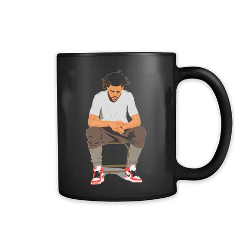 J Cole 4 Your Eyez Only Dreamville False Prophets Cole World 11oz Mug