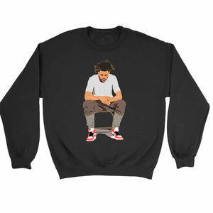 J Cole 4 Your Eyez Only Dreamville False Prophets Cole World Sweatshirt