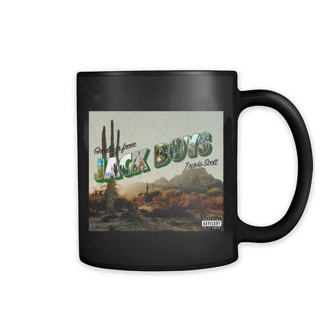 Jack Boys Album Cover Art V2 11oz Mug