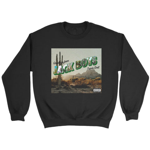 Jack Boys Album Cover Art V2 Sweatshirt
