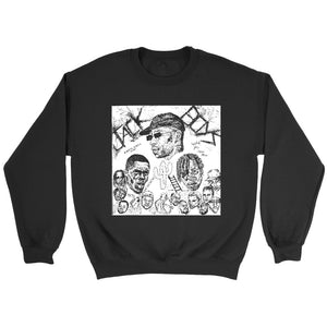 Jack Boys Skerch Art Sweatshirt