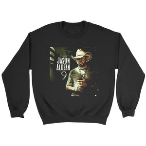 Jason Aldean 9 Album Cover Sweatshirt