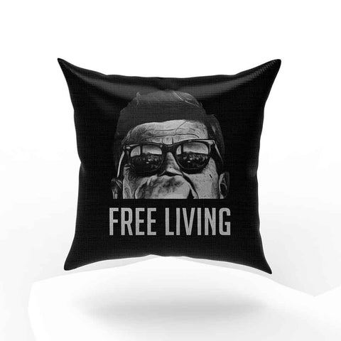 Jfk Free Living Pillow Case Cover