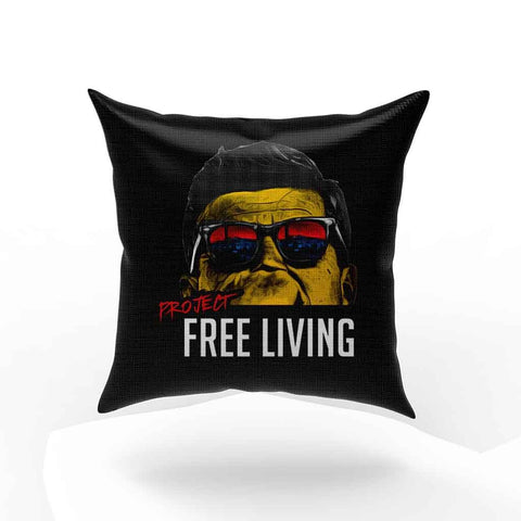 Jfk Free Living Full Color Pillow Case Cover