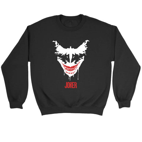 Joker Face Batman Sweatshirt