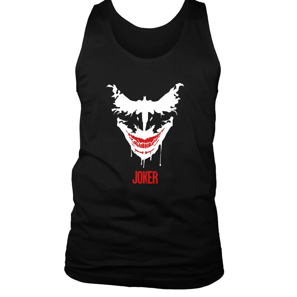 Joker Face Batman Men's Tank Top