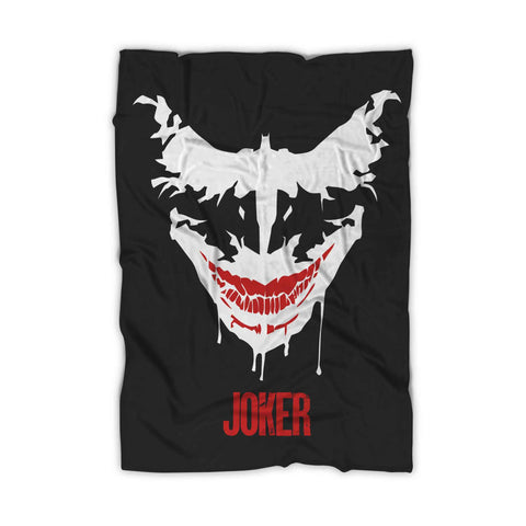 Joker Face Batman Blanket